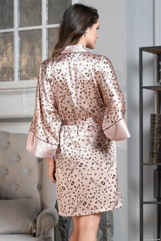 Короткий халат-кимоно Mia-Amore с широким рукавом