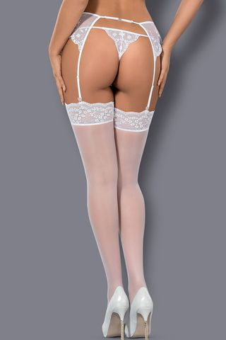 Белые чулки Etheria stockings