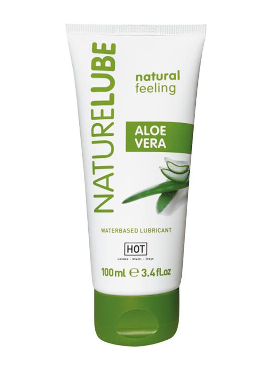 NaturLube Aloe Vera лубрикант на водной основе с Алоэ Вера 100 мл. фото