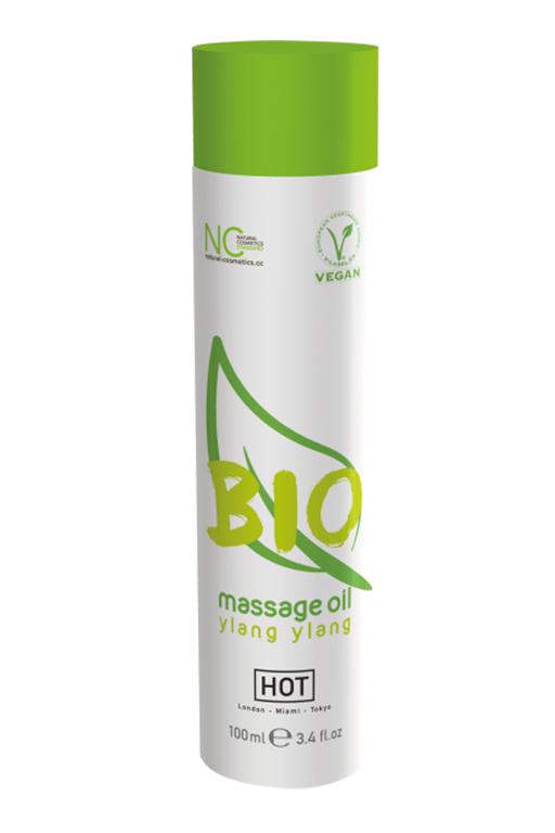 Массажное масло HOT BIO Massage oil ylang ylang 100 мл. фото