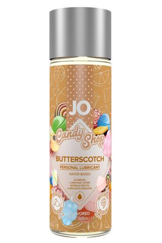 Вкусовой лубрикант на водной основе Candy Shop Ириски (Butterscotch) - 60 мл.