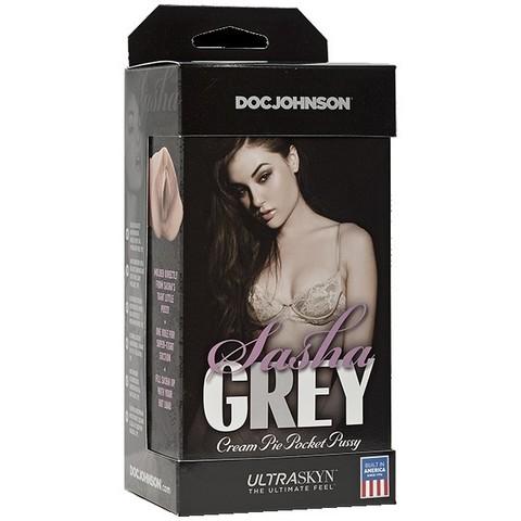 Мастурбатор вагина без вибрац. Sasha Grey UR3