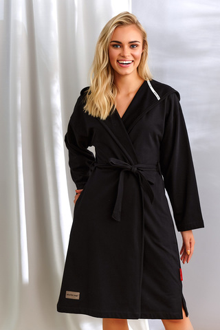 Черный халат SWW