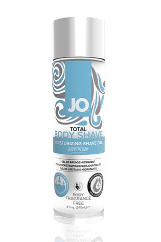 Гель для интимного бритья без раздражений / JO Total Body Shave Anti-Bump - Fragrance Free 8oz - 240