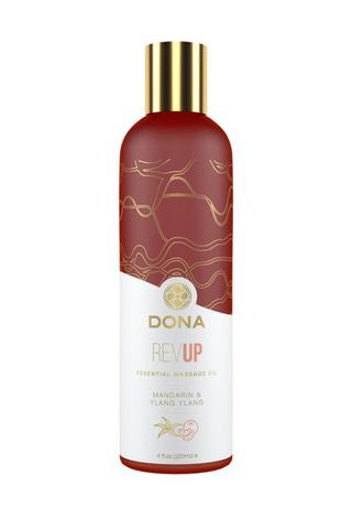Эфирное массажное масло Dona с ароматом мандарина и иланг-иланга - 120 мл.