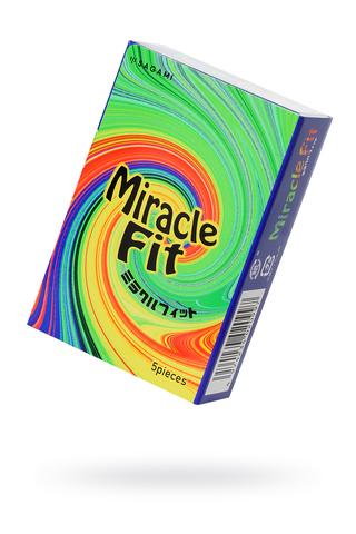 Презервативы латексные Sagami Miracle Fit №5