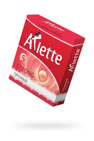 """Презервативы """"Arlette"""" №3, Strong Прочные 3 шт."""