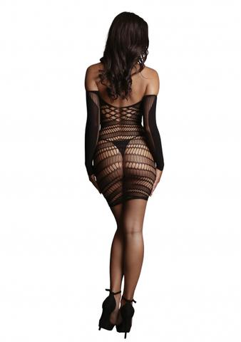 Миниплатье Long Sleeved Mini Dress