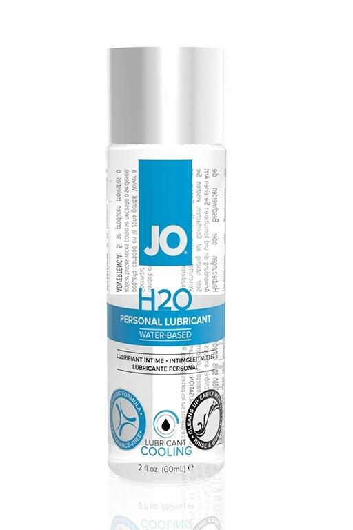 Классический охлаждающий лубрикант на водной основе JO H2O COOL, 2 oz (60мл.) фото