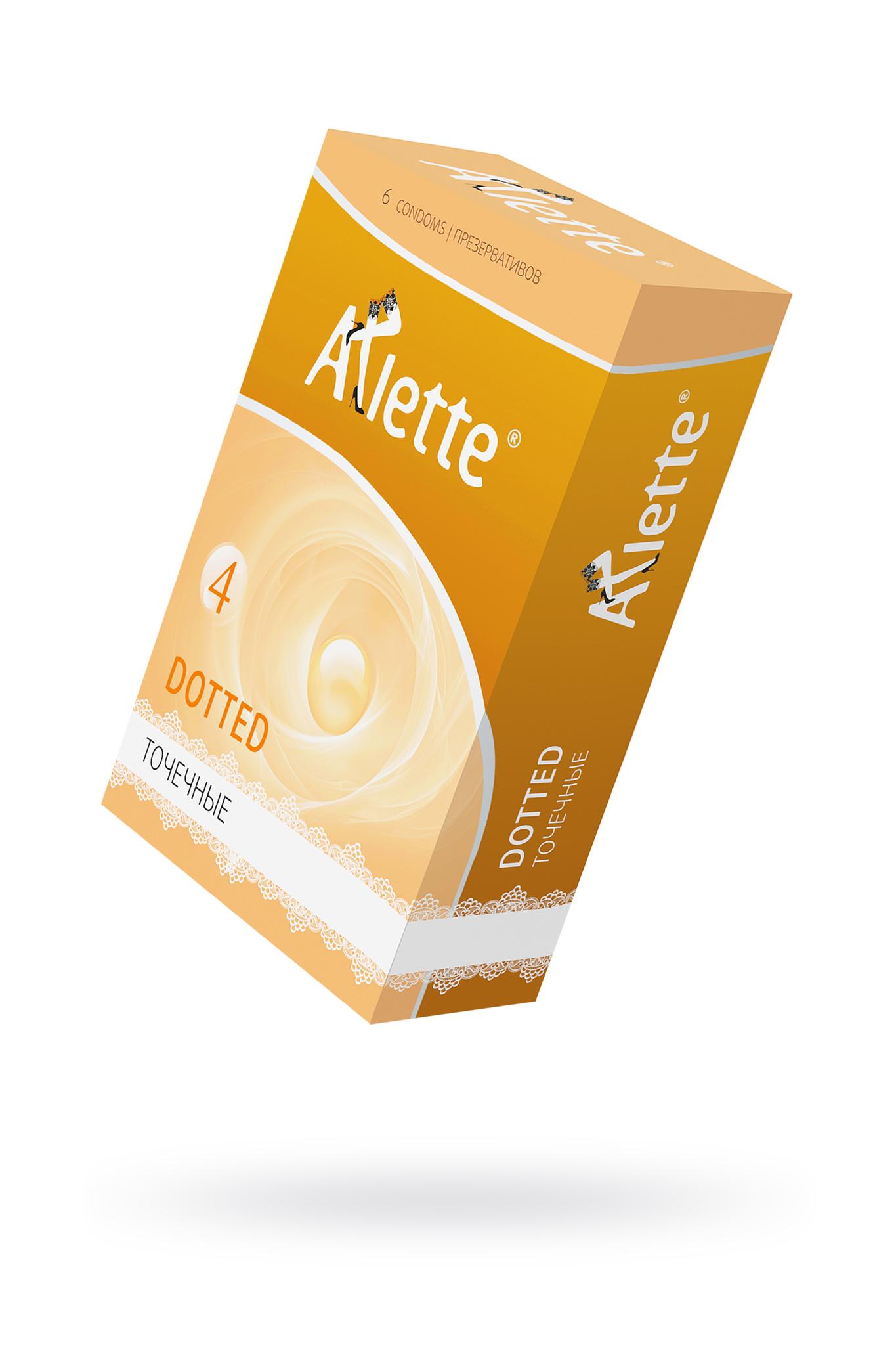 Презервативы Arlette №6, Dotted Точечные 6 шт. фото
