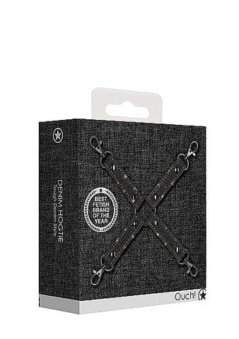 Крестообразный фиксатор для наручников и наножников  Roughend Denim Style