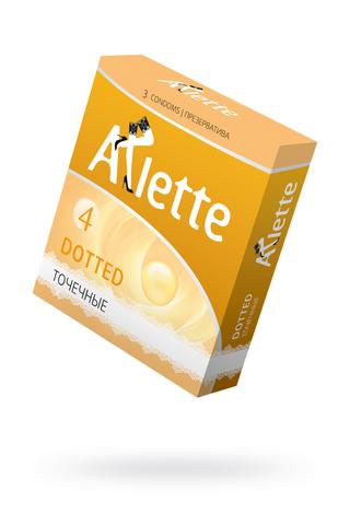 """Презервативы """"Arlette"""" №3, Dotted Точечные 3 шт."""