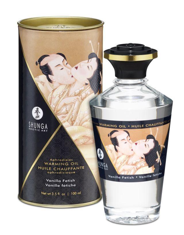 Масло интимное массажное Ванильный фетиш 100 МЛ фото