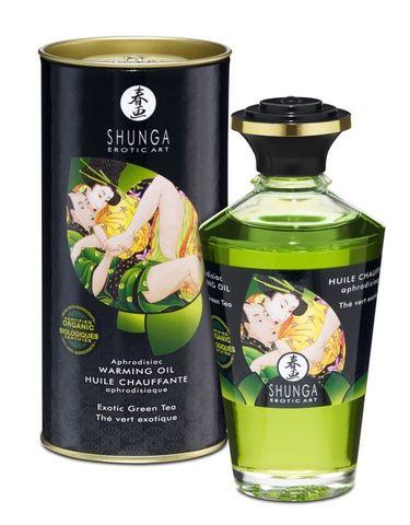 Масло интимное массажное Экзотический зеленый чай 100 МЛ