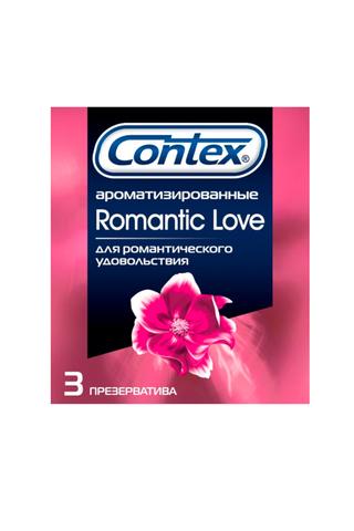 Презерватив Contex №3 Romantic Love ароматизированные