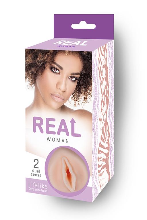 Большой ультра-реалистик мастурбатор Real Woman Мулатка фото