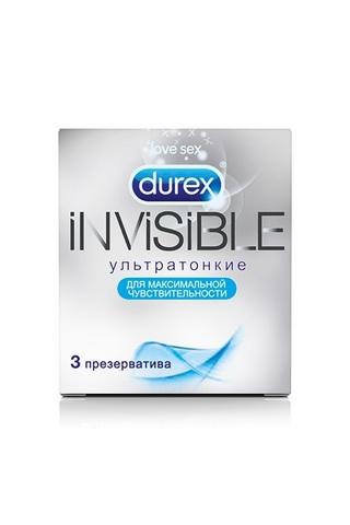 Презервативы Durex N3 Invisible ультратонкие