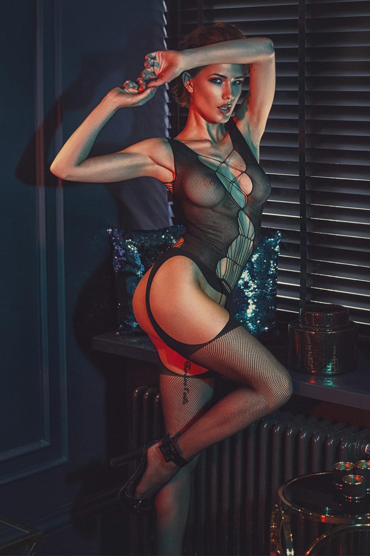Черный бодикомбинезон Chelsie фото