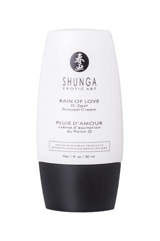Крем для стимуляции точки G Shunga Rain of love, уникальная формула с L-аргинином, 30 мл