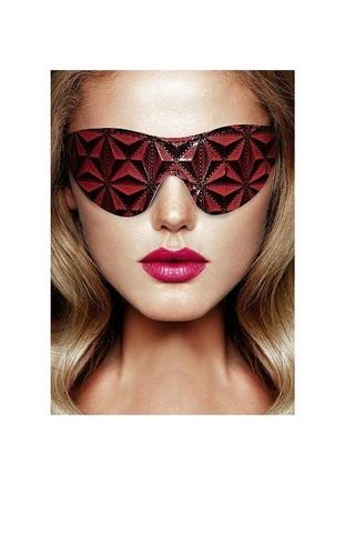 Маска на глаза закрытого типа (повязка) Luxury Eye Mask