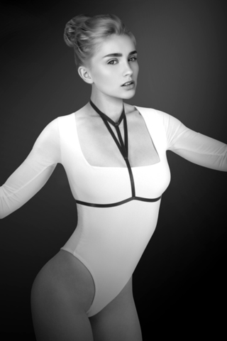 Bijoux Pour Toi Фиксация: упряжь на грудь Миа Harnais de corps elastique Mia