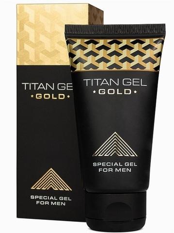 Специальный интимный гель для мужчин Titan Gel Gold TANTRA - 50 мл.