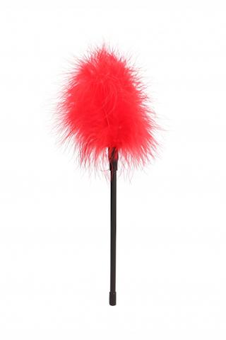 Пуховка (перьевая кисточка, щекоталка)  Feather