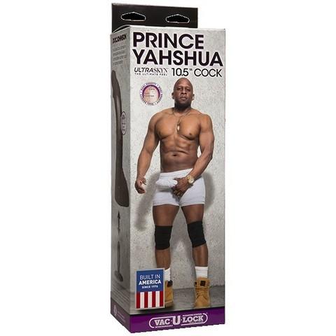 "Фаллоимитатор-насадка для страпона Принц Prince Yahshua ULTRASKYN™ 10.5"""