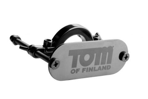 Tom of Finland Stainless Steel Ball Crusher Металлический зажим на мошонку с фиксацией