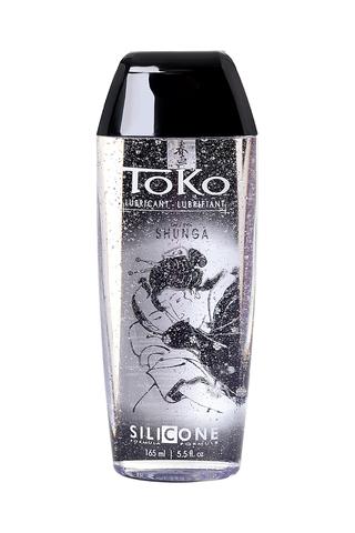 Лубрикант Shunga Toko Silicone на силиконовой основе, длительное скольжение, 165 мл