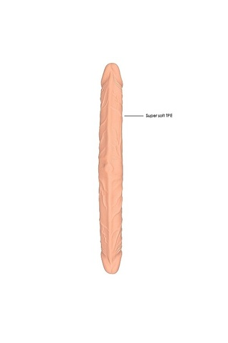 Двусторонний фаллоимитатор длиной Double Dong - 48 см.
