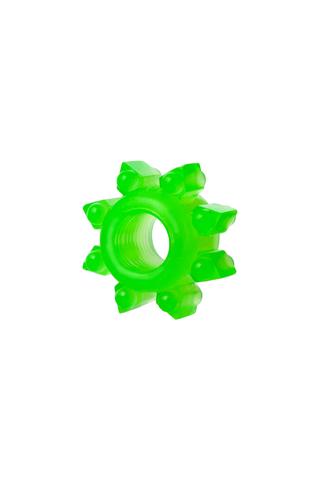 Набор колец на пенис 6 шт TOYFA, TPE, зеленый