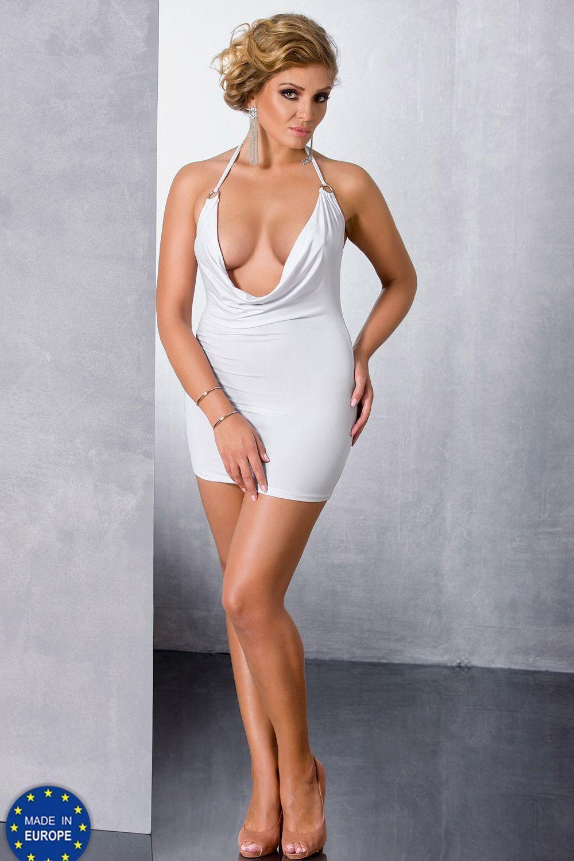 Белое мини-платье Miracle фото