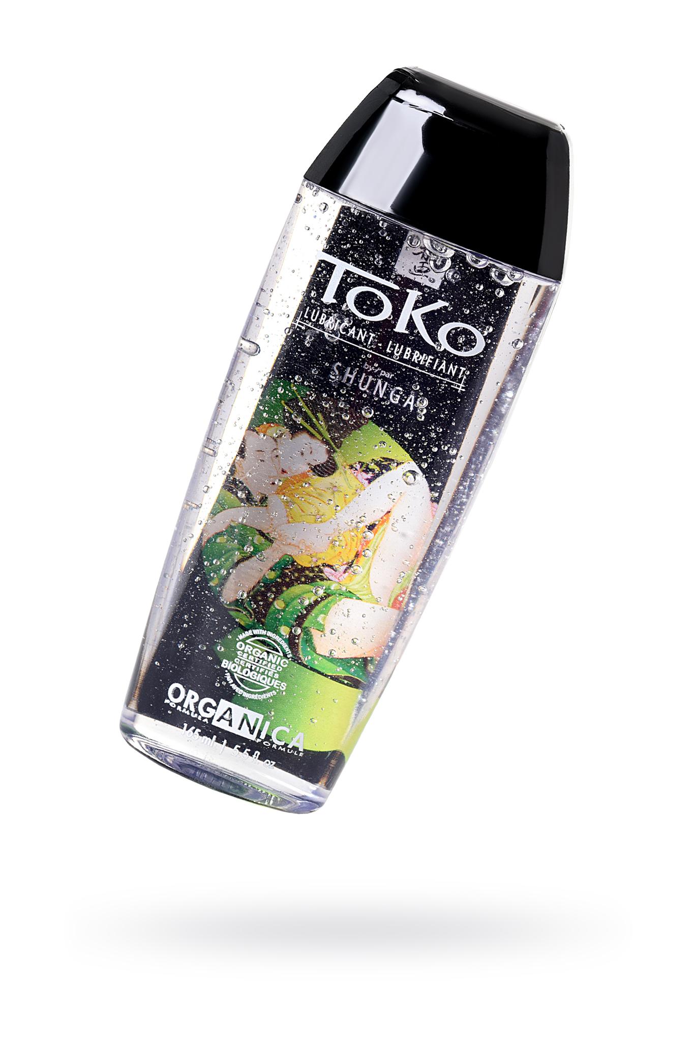 Лубрикант Shunga Toko Organica на водной основе, из 100% органических компонентов,165 мл фото