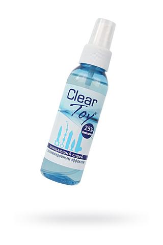 """Очищающий спрей  """"CLEAR TOY"""" с антимикробным эффектом  100 мл"""
