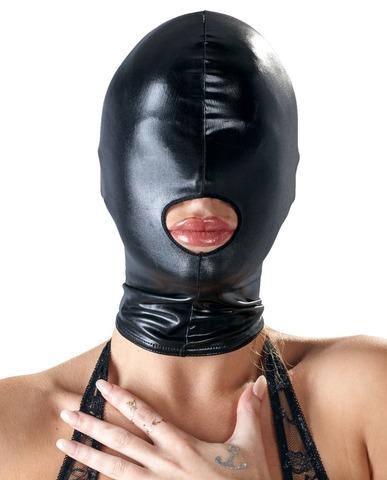 Маска на голову с отверстием для рта Mask by Bad Kitty