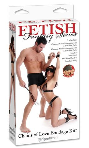 Набор для бондажа Fetish Fantasy Series Chains of Love Bondage Kit