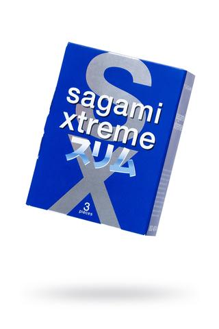 Презервативы Sagami Xtreme Feel Fit,гладкие №3