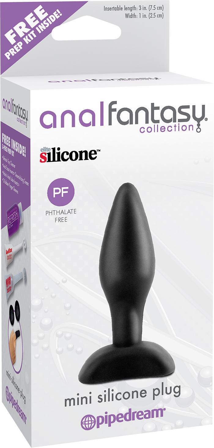Анальная пробка для начинающих Mini Silicone Plug фото