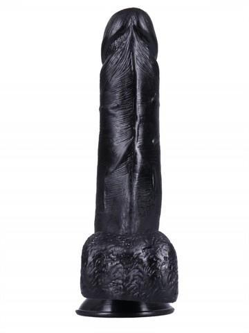 Фаллоимитатор. на присоске №1, черный