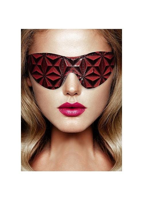 Маска на глаза закрытого типа (повязка) Luxury Eye Mask фото