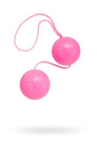 Вагинальные шарики TOYFA, ABS пластик, розовые, 20,5 см