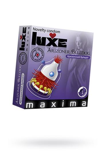 Презервативы Luxe Maxima Аризонский Бульдог №1, 1 шт фото