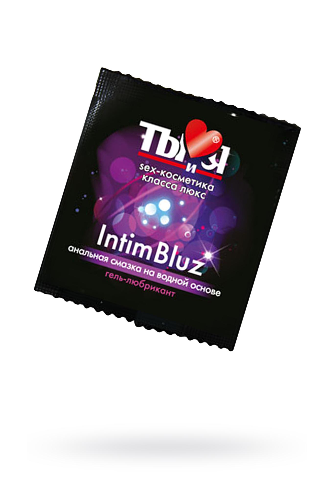 Гель-лубрикант Ты и Я Intim Bluz анальный 4 г, 20 шт в упаковке фото
