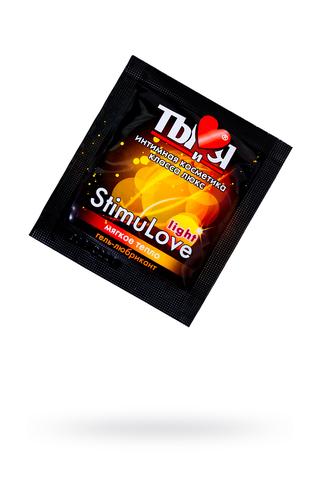 """Гель-лубрикант Ты и Я """"StimuLove light"""" возбуждающий, 4 г, 20 шт в упаковке"""