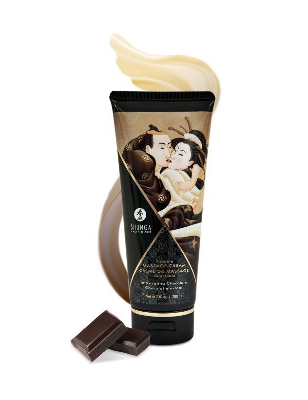 Массажный крем для тела Пьянящий шоколад серии Необыкновенные поцелуи, 200мл фото