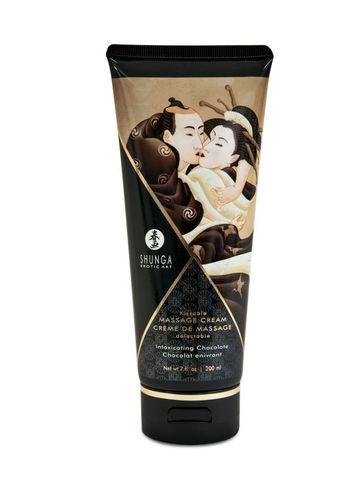 Массажный крем для тела Пьянящий шоколад серии Необыкновенные поцелуи, 200мл