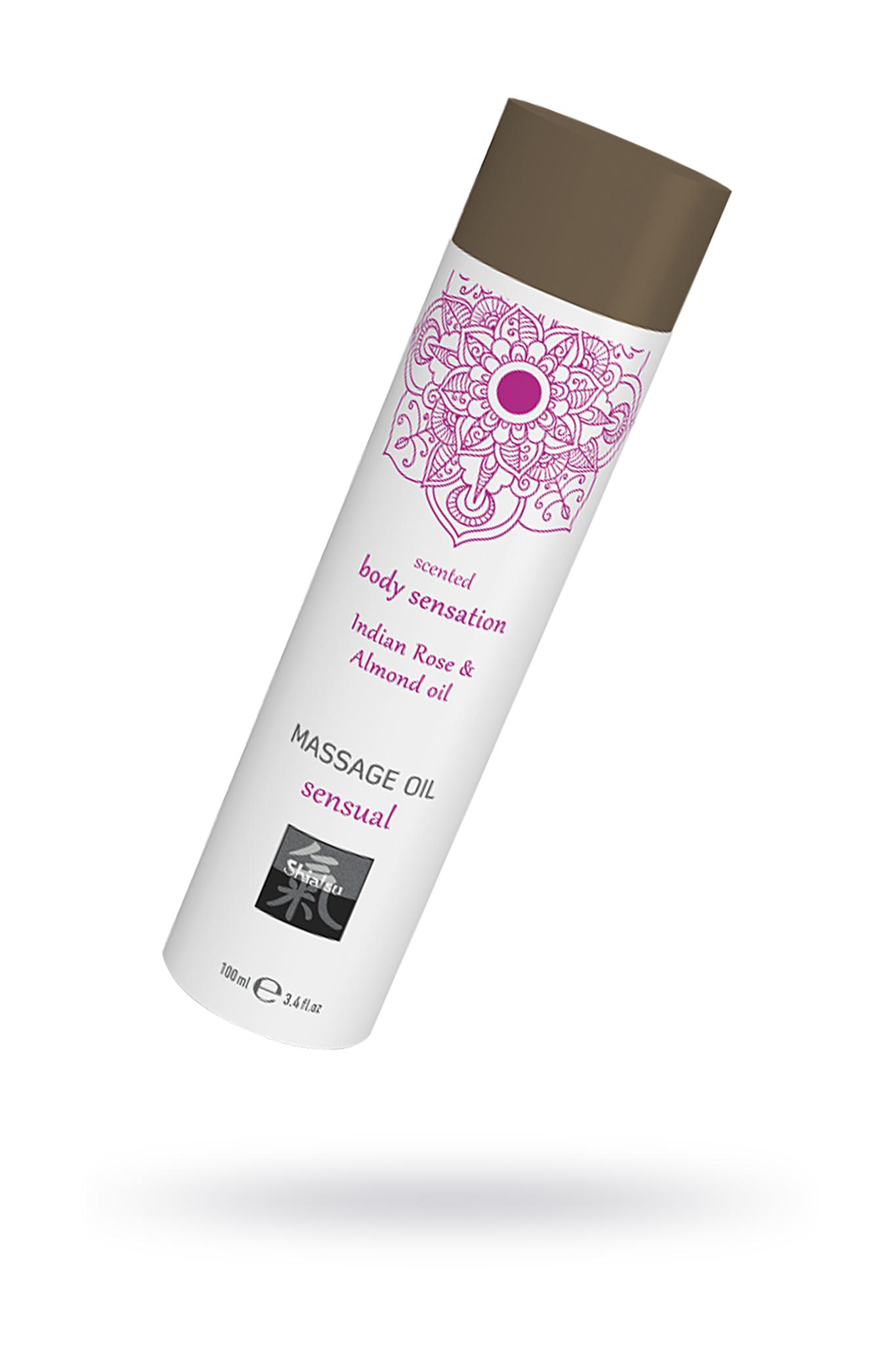 Массажное масло sensual - Индийская Роза и Масло миндаля, 100 мл. фото
