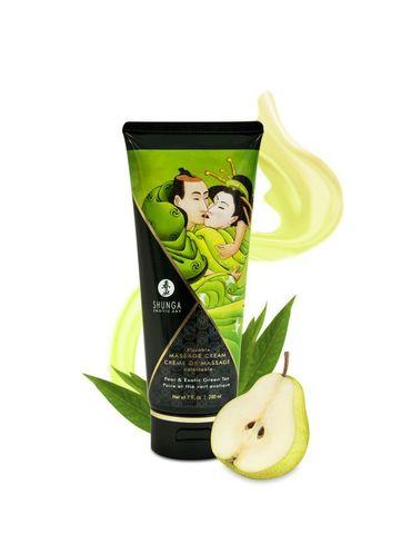 Массажный крем для тела Груша и экзотический зеленый чай серии Необыкновенные поцелуи, 200мл