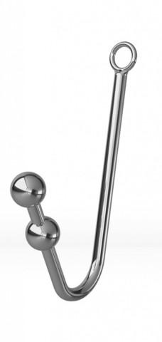 Анальный крюк с фиксацией, ошейником и наручниками